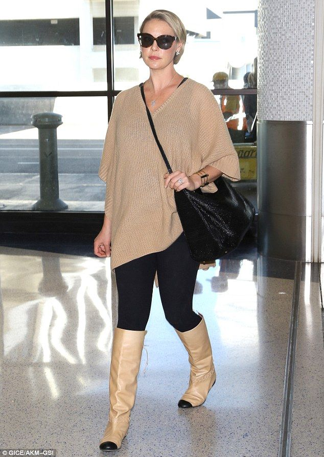 The gypsy in my soul: Katherine Heigl was spotted strolling through LAX on Thursday...