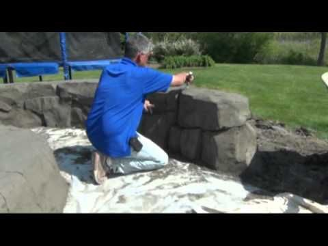 One Day Walls is a group designed to teach Vertical Artisans the craft of sculpting realistic rock work using special concrete from ready mix companies. goto...