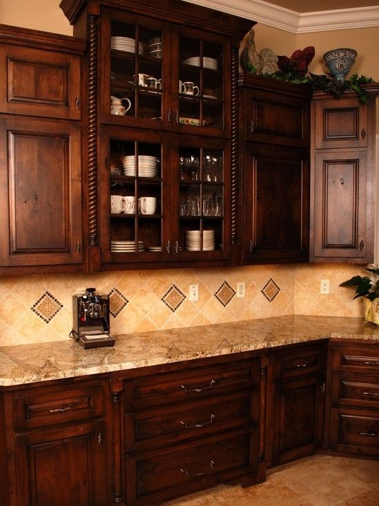 Spanish colonial design pictures remodel decor and for Colonial kitchen cabinet ideas