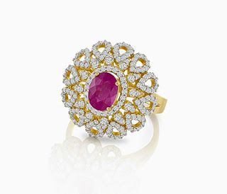 Diwali special ring collections - Latest Jewellery Design for Women | Men online - Jewellery Design Hub