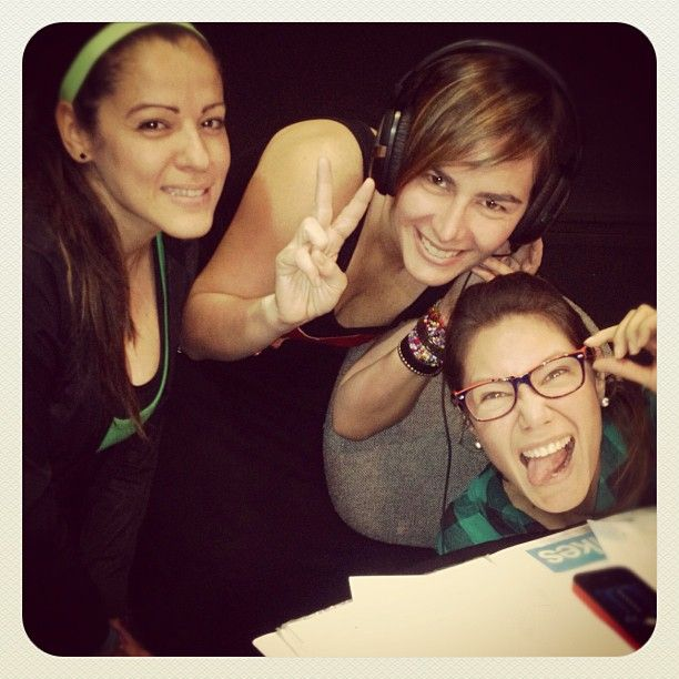 Invitada al programa @empelotadas #Mujeresenpolota #hot94fm con Marielena y Nathaly de 6 a 9am x HOT 94.1