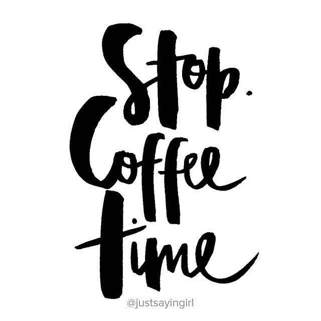 Coffee lovers unite! Coffee time, the best time of day. Image: @justsayingirl. #Coffee #ModelCoHQ