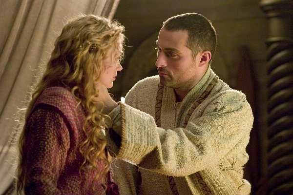 Rufus Sewell & Sophia Myles, from TRISTAN & ISOLDE (2006) (starring James Franco as Tristan)