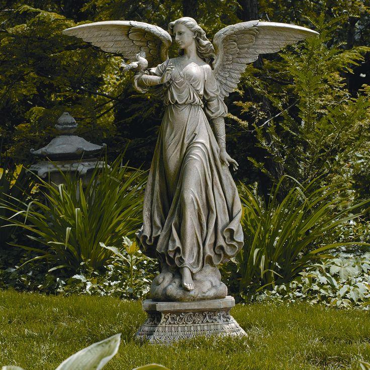 Roman Classic Angel Garden Statue~beautiful.