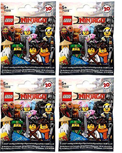 LEGO The Ninjago Movie Minifigures -  Series 17 (71019)  Random Pack of 4 #Legos  #GoodBuysAlltheTime