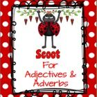 Many students can give an example of an adjective or adverb, yet have trouble finding one in a sentence. This activity includes 2 Scoot games to help students practice identifying adjectives and adverbs in sentences. $