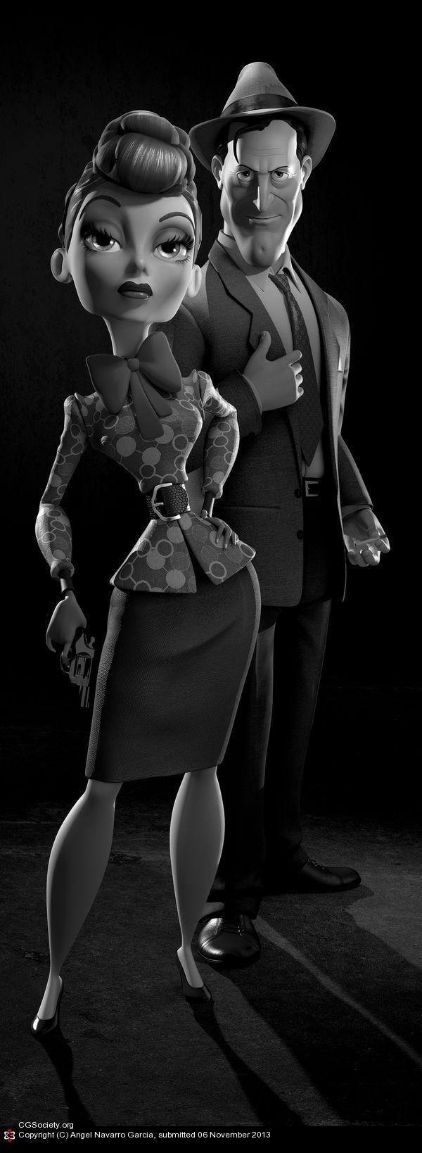 CGTalk - Kirk & Lucy CTN poster A, Angel Navarro Garcia (3D)