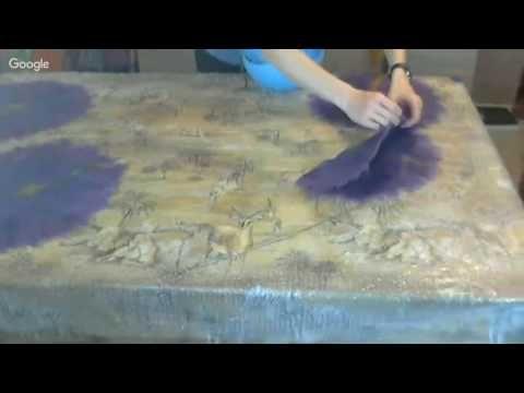 ✿Техники декорирования войлока✿Волокна, ламинация, шелковые гребни и блокираторы.. - YouTube