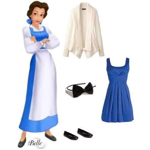 Belle inspired outfit...from http://weheartit.com/entry/7850871