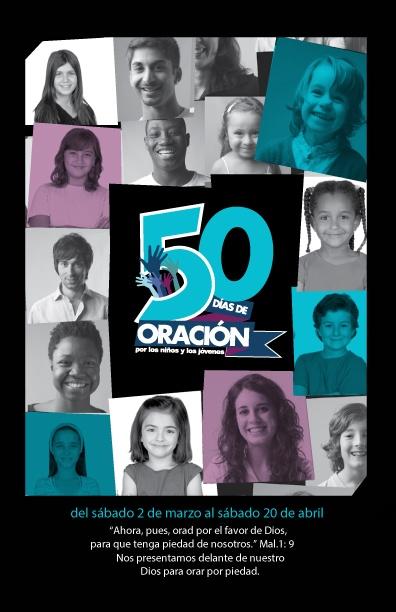 50 días de oración por los niños y jóvenes
