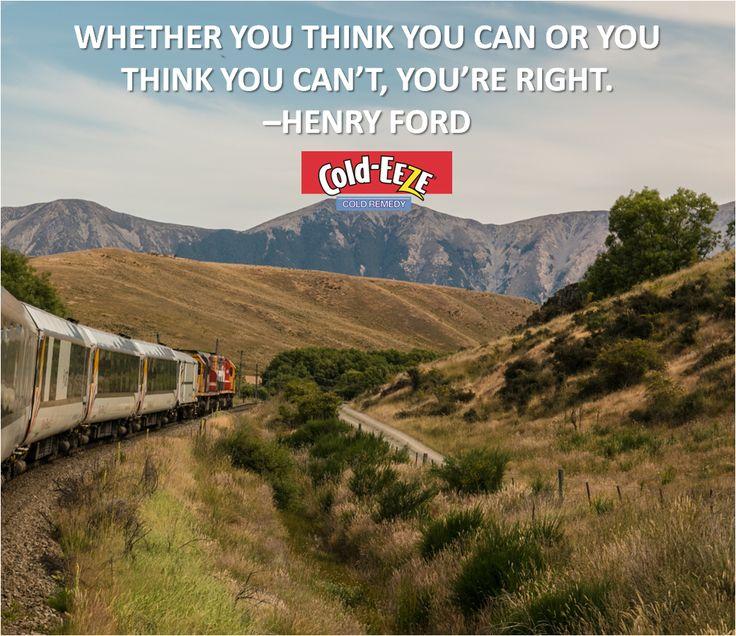 Think you can! #MondayMotivation
