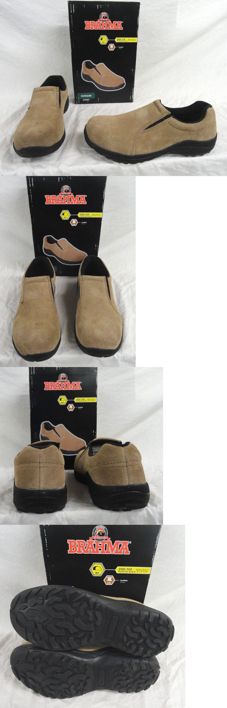 Occupational 11501: Brahma Mens Womens Leather Slip On Steel Toe Shoes >>>Super Fast Shipping!!! -> BUY IT NOW ONLY: $32.99 on eBay!