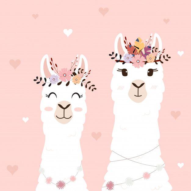 Cute Llamas For Wedding Invitation Cute Llama Llama Arts Cute Wallpapers