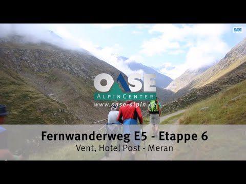 Alpenüberquerung von Oberstdorf nach Meran - Zu Fuß über die Alpen: Oberstdorf Meran E5 mit OASE AlpinCenter, Bergschule in Oberstdorf / Allgäu