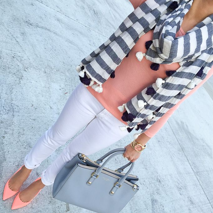 Shoes, Spring Daily Outfits and Y clutch // StylishPetite.com