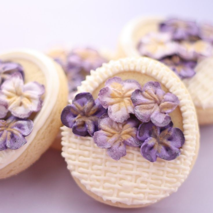 Mother's Day Cookies - Flower Baskets