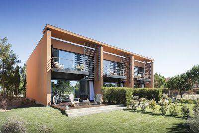 Portal de Diseño y Decoración: Land Beach Houses de Troia lo tienen todo, en dise...