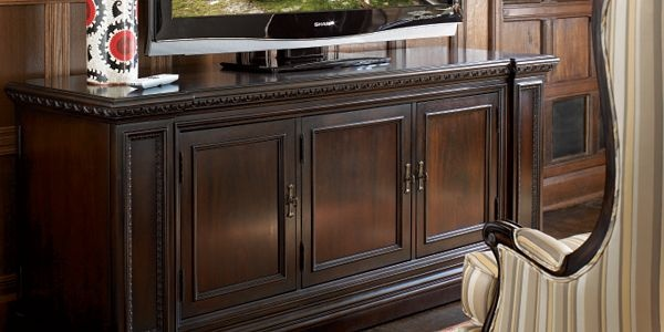 Brompton Hall Home Entertainment Furniture by Thomasville Furniture