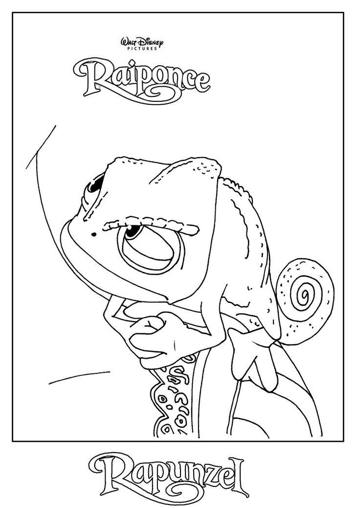 The 27 best images about Coloriage DISNEY Raiponce on