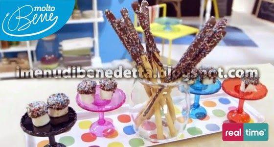 Rotolini di Nocciole e Grissini al Cioccolato di Benedetta Parodi