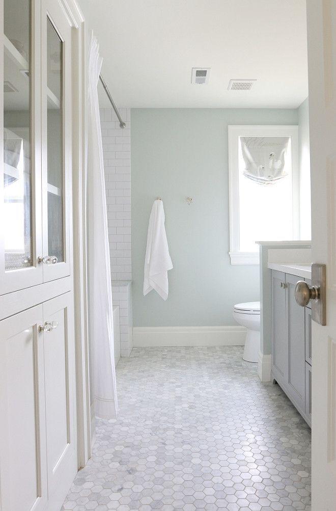 sherwin williams sea salt wall paint color studio bathroom paint ceiling