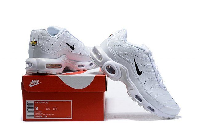 check out 39865 bc012 Mens Winter Nike Air Max Plus TN Se Running Shoes White black 815994-100