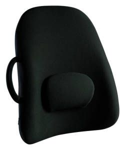 Lowback Backrest Support. Prevent Fatigue by reducing strain and energy demand on muscles. Ease pain. Improve Posture.