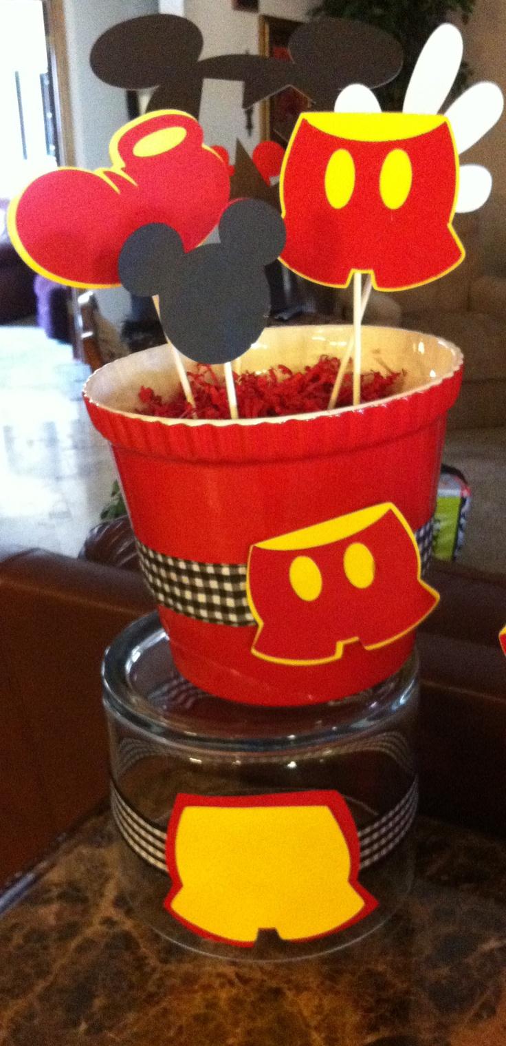 Centerpieces candy jar ideas baby shower birthday