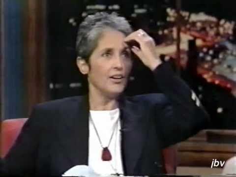 Sports Broadcaster Bob Costas interviews singing legend Joan Baez. 1993-...
