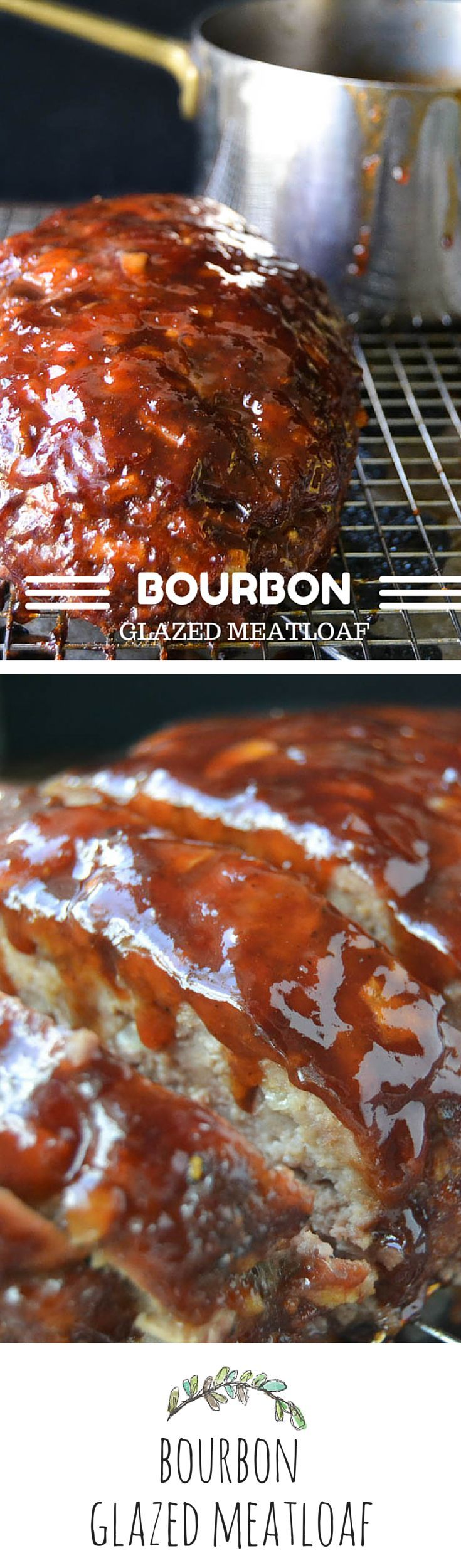 Bourbon Glazed Meatloaf: this is seriously good, sauce is awesome!, used ground chuck/ground pork mixture for meatloaf, red raspberry jam in sauce. Will make again. Made 3/8/15