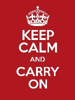 KEEP CALM AND CARRY ON poster maker