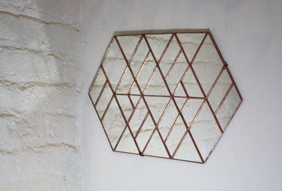 Deca miroir I par BespokeGlassTile sur Etsy