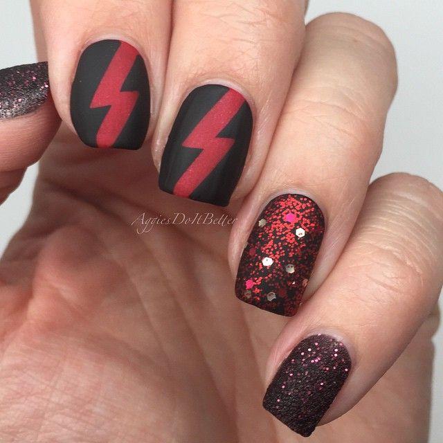 Instagram media aggiesdoitbetter #nail #nails #nailart