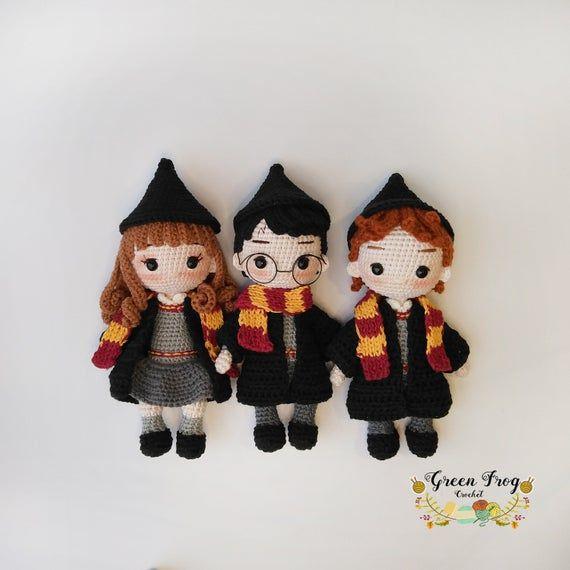 Ravelry: Harry Potter Amigurumi pattern by Mariana Chaves | 570x570