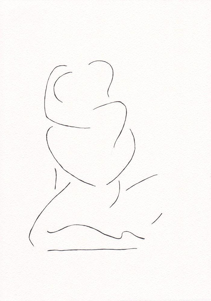 Minimalistes noir et blanc les amateurs de dessin. par siret