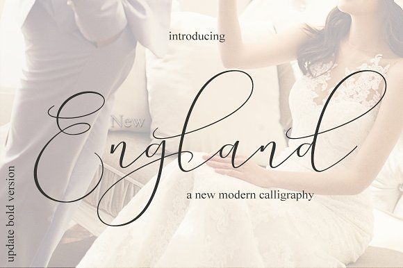 New England - Elegance script by MrLetters on @creativemarket