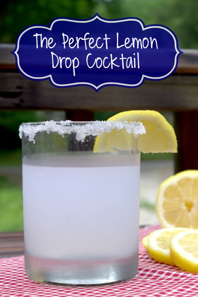When the temperatures rise in the summer and my hubby is manning the grill, you can find me mixing a pitcher of my lemon drop cocktail recipe.