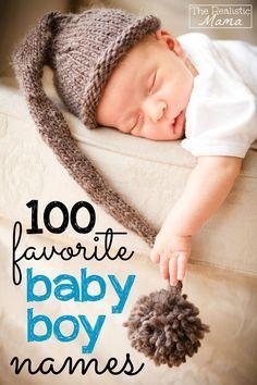 100 Favorite Baby Boy Names
