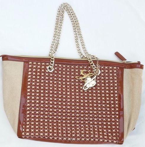 Handbags-borsa-shopping-orizontal-LIU-JO-eco-pelle-e-tessuto-intrecciato #handbags #bestprice #borse #donna #superprezzi #saldi #sale #borsescontate #liujo