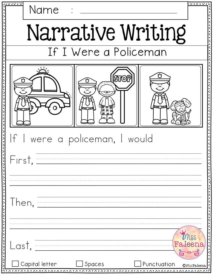 Free Writing Prompts With Images Kindergarten Writing Prompts