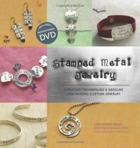 Stamped Metal Jewelry - Book & DVD - Lisa Niven Kelly