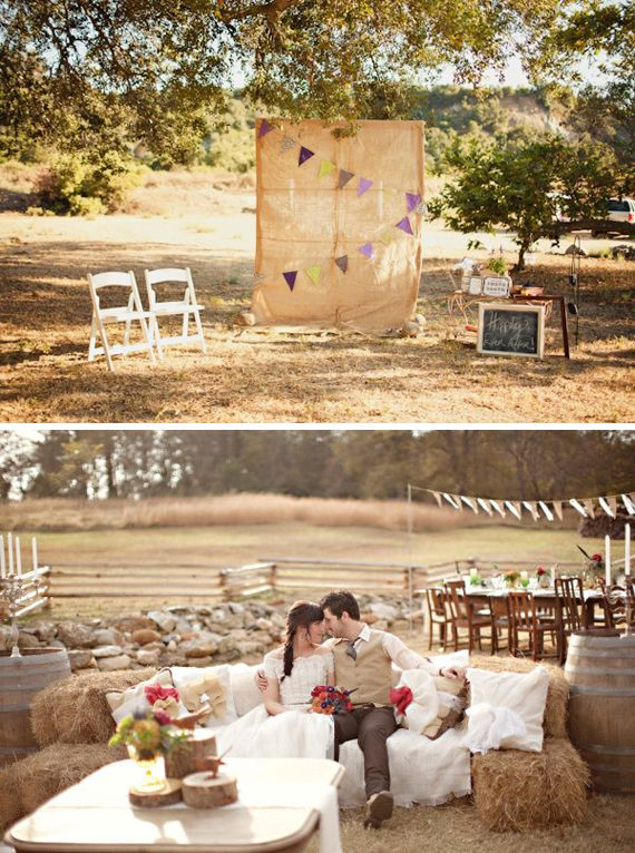 Inspiration Mariage Rustique