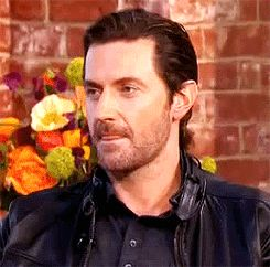 "Richard Armitage on ""This Morning"" UK (GIF)"