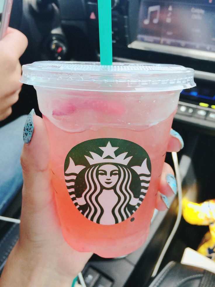 Starbucks Secret Menu Drink: Strawberry mago refresher! its really good(: If they ask you what goes in it just say its strawberry acai with mango syrup.