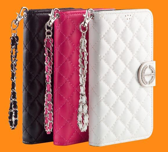 HONORABLE LUXURY QUILTING DIARY WALLET CASE FOR GALAXY A5. $25.00