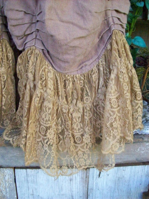Luxury magnolia pearl bloomers but would be nice as a skirt too