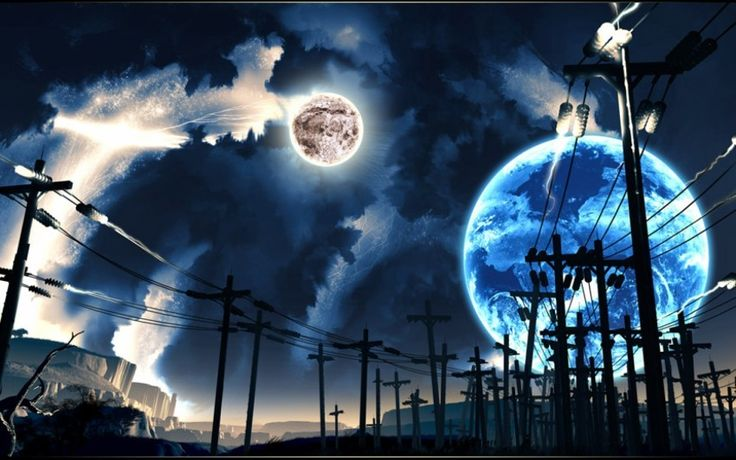 Big Blue Moons Download free addictive high quality photos,beautiful images and amazing digital art graphics about Fantasy / Imagination.