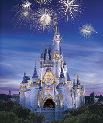 cinderella s castle magic kingdom love it there the fireworks