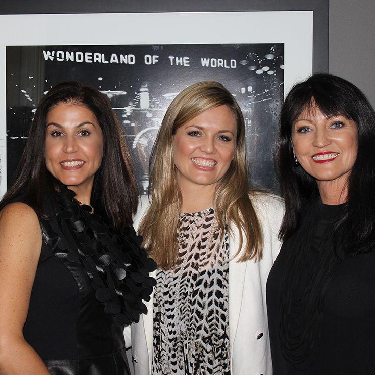 Behind the scenes... the jane iredale team in Sydney :: Theresa, Jacqui & Margi :: August 2013  #meetjaneiredale2013