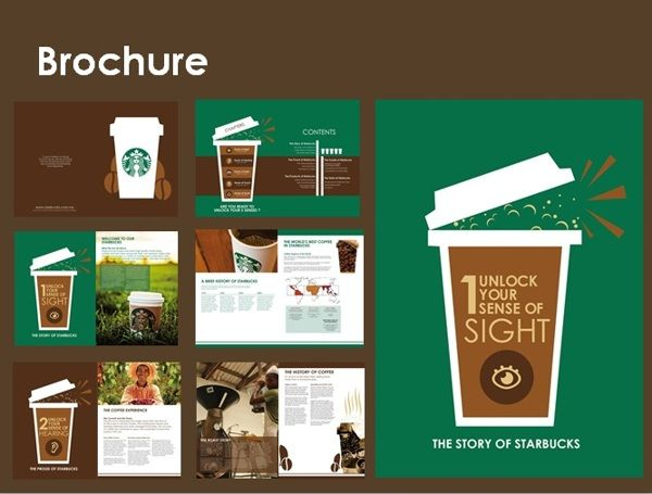 STARBUCKS CORPORATE PROFILE by Wayne y.m.h., via Behance